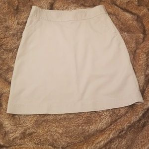 BnWOT!!!BANANA REPUBLIC stretch  ladies miniskirt